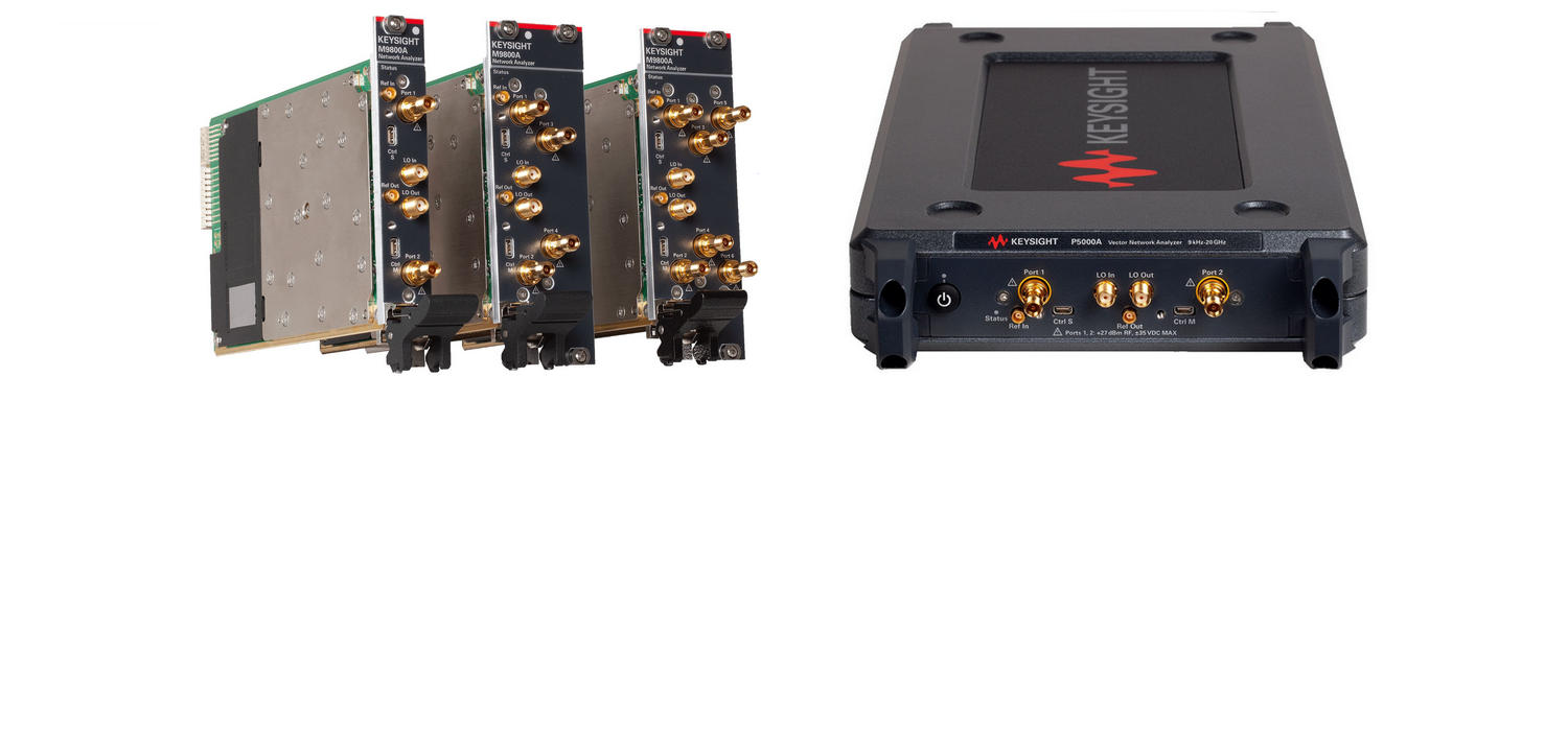 New Keysight´s USB and PXIe Vector Network Analyzers - Compact Design, Uncompromising Performance