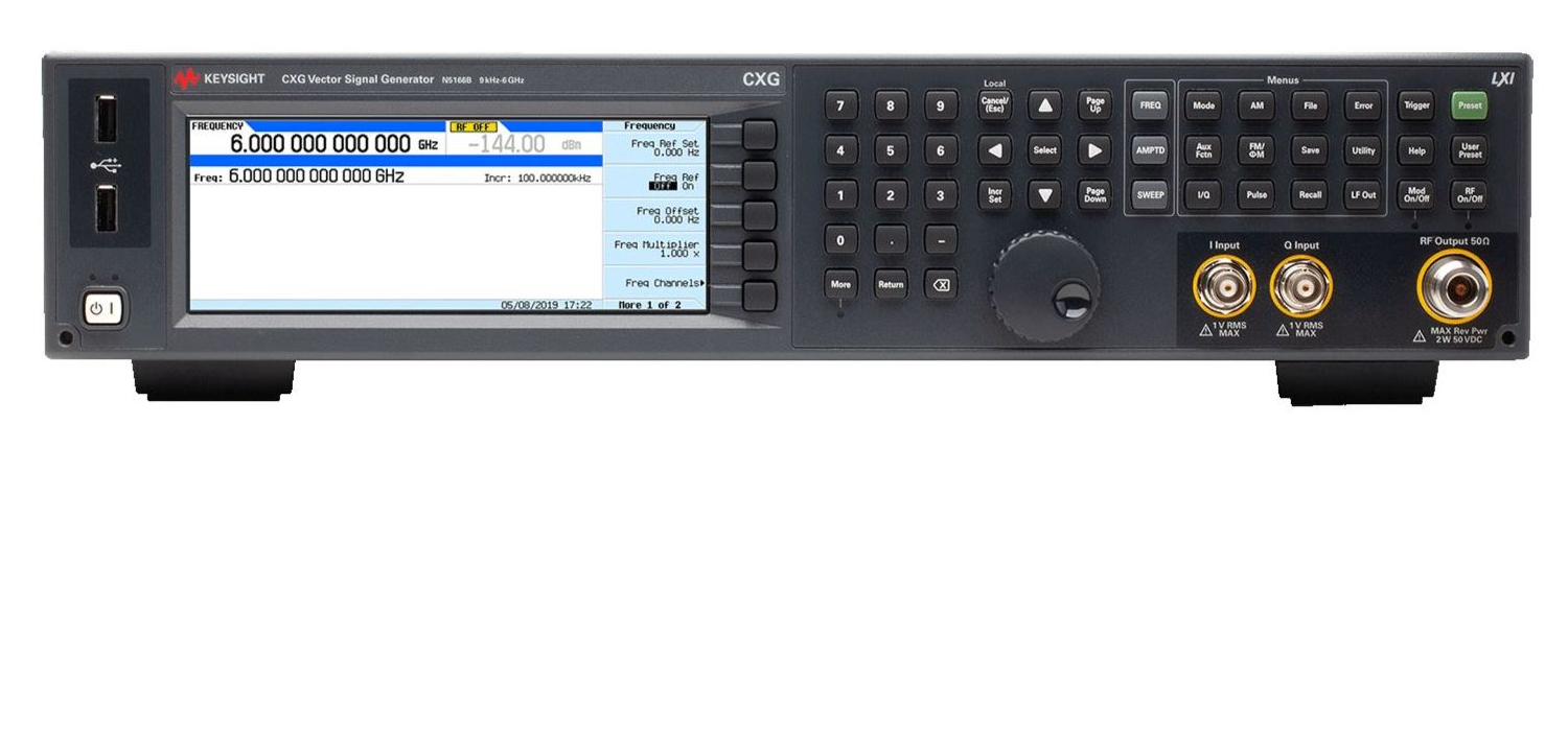 Keysight´s new N5166B CXG multi-functional RF vector signal generator