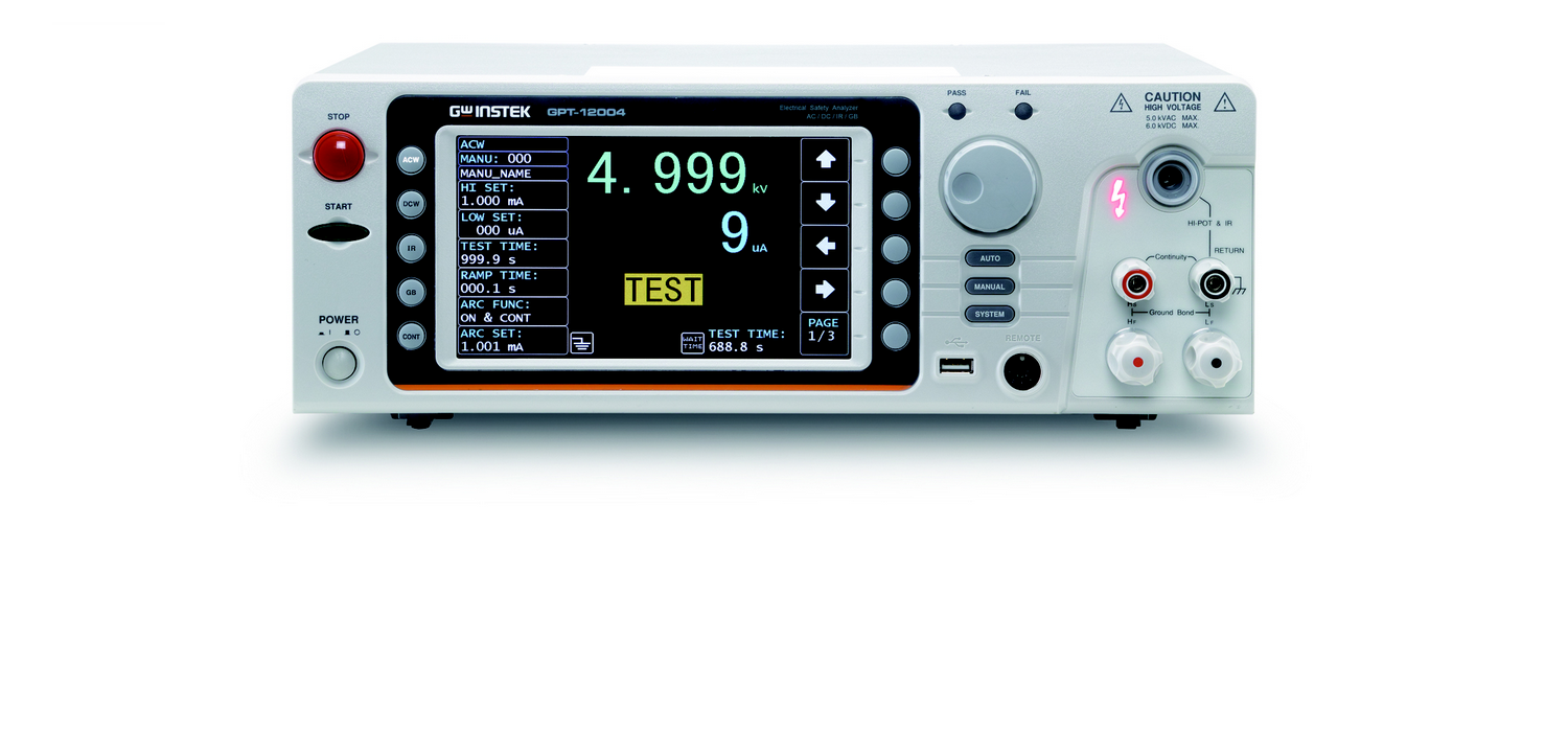 GW Instek GPT-12000 Series Electrical Safety Analyzer