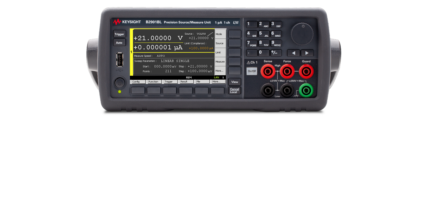 Most affordable Keysight SMUs ever – B2900BL series starts at 3.918,- EUR